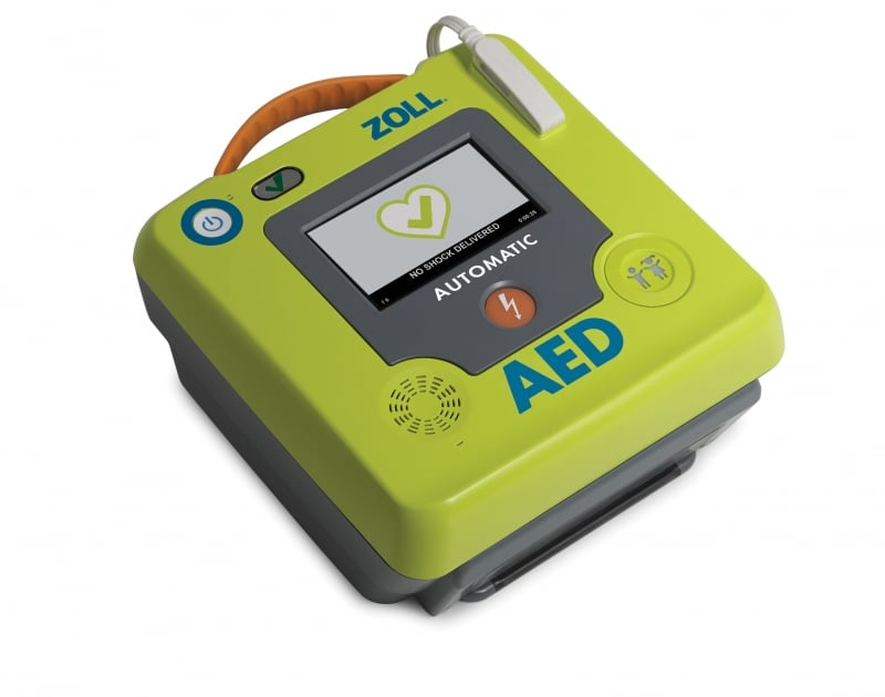 AED – ZOLL 3 Semi-Auto English Instructions