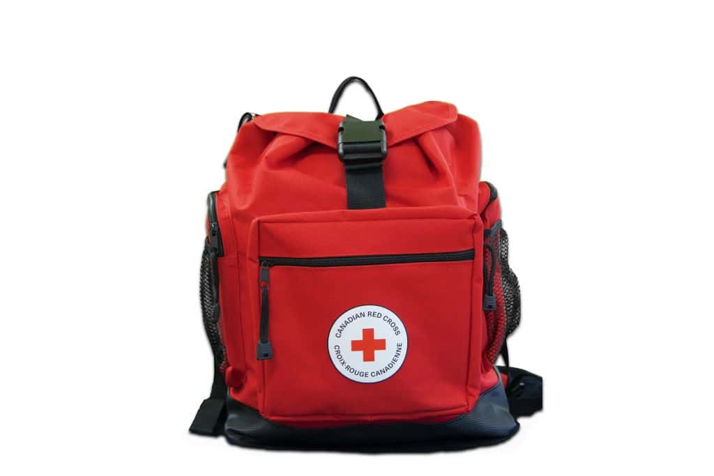 2-Person – Canadian Red Cross Deluxe Disaster Preparedness Kit