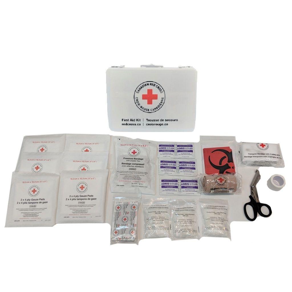 British Columbia Basic First Aid Kit in Metal Box