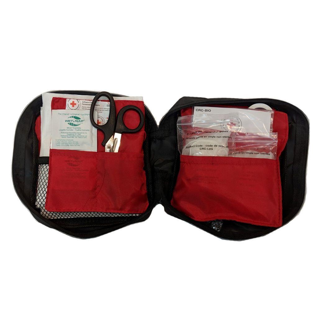 British Columbia Basic First Aid Kit in Nylon Bag