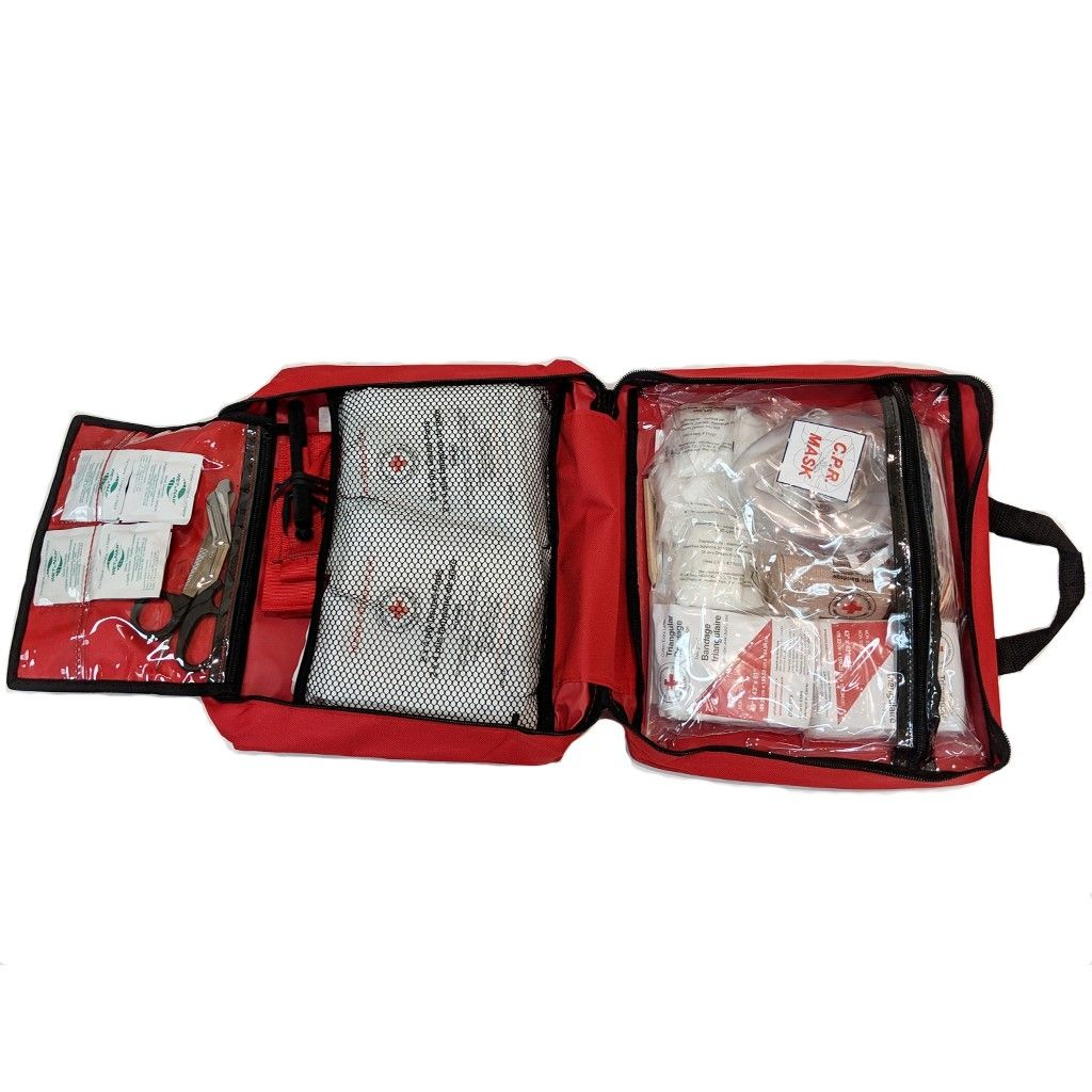 British Columbia Level 1 First Aid Kit in Nylon Bag