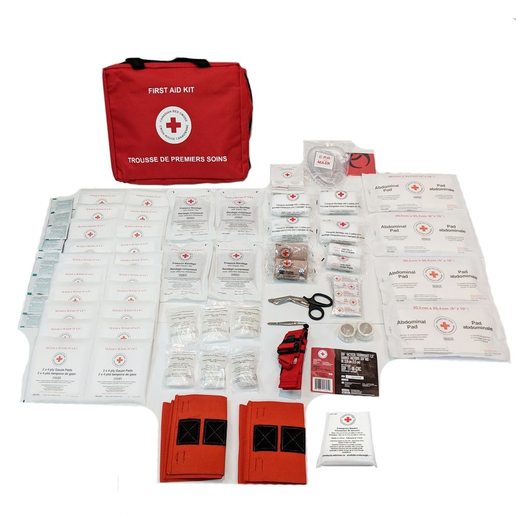 British Columbia Level 2 First Aid Kit in Nylon Bag